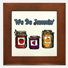 We Be Jammin' Framed Tile