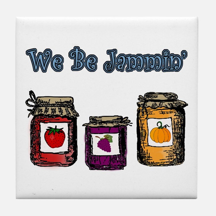 We Be Jammin' Tile Coaster