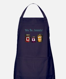 We Be Jammin' Apron (dark)