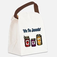 We Be Jammin' Canvas Lunch Bag