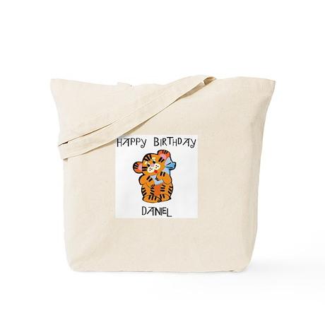 Happy Birthday Daniel (tiger) Tote Bag