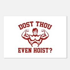 Dost Thou Even Hoist ? Postcards (Package of 8)