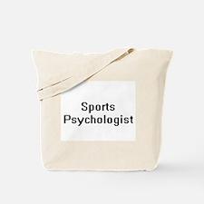 Sports Psychologist Retro Digital Job Des Tote Bag