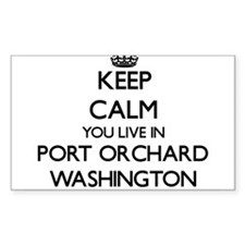 Keep calm you live in Port Orchard Washing Decal