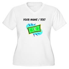 Dollar Bill (Custom) Plus Size T-Shirt