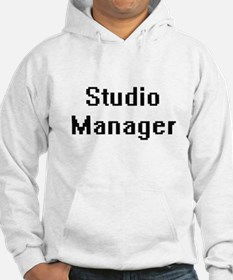 Studio Manager Retro Digital Job Hoodie