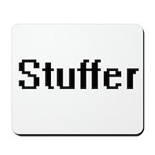 Stuffer Retro Digital Job Design Mousepad