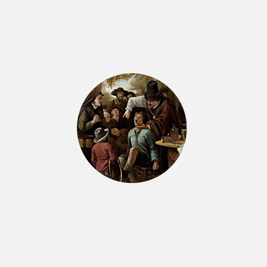The Tooth Puller - Jan Steen Mini Button