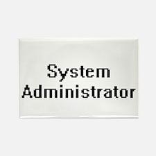 System Administrator Retro Digital Job Des Magnets
