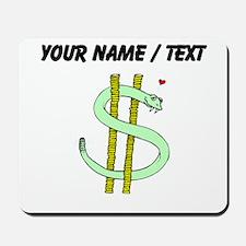 Snake Dollar Sign (Custom) Mousepad