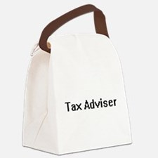 Tax Adviser Retro Digital Job Des Canvas Lunch Bag
