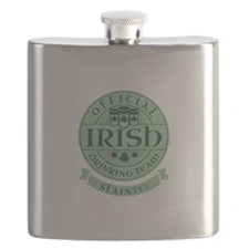Official Irish Drinking Team Flask