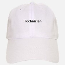 Technician Retro Digital Job Design Baseball Baseball Cap