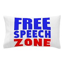 Free Speech Zone Pillow Case