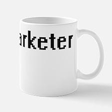 Telemarketer Retro Digital Job Design Mug