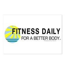 Fitness Daily Postcards (Package of 8)