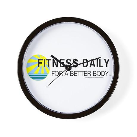 Fitness Daily Wall Clock