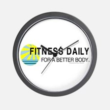 Fitness Daily Wall Clock