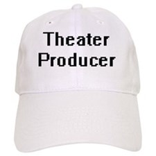Theater Producer Retro Digital Job Design Baseball Cap