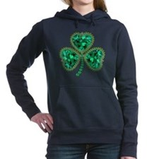 Shamrock Women's Hooded Sweatshirt