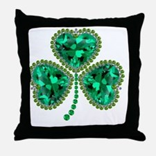 Cute St patricks day Throw Pillow