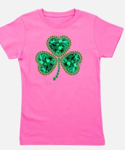 Unique St patricks day Girl's Tee