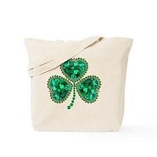 Cute Irish shamrock Tote Bag