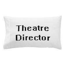 Theatre Director Retro Digital Job Des Pillow Case