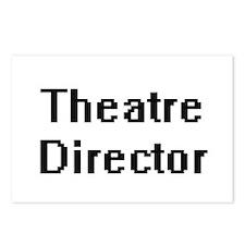 Theatre Director Retro Di Postcards (Package of 8)