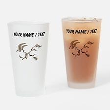 Bull And Bear (Custom) Drinking Glass