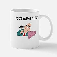 Breaking The Piggy Bank (Custom) Mugs