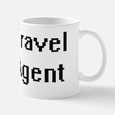 Travel Agent Retro Digital Job Design Mug