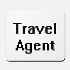 Travel Agent Retro Digital Job Design Mousepad