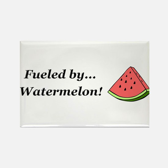 Fueled by Watermelon Rectangle Magnet