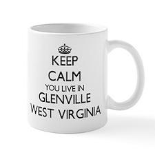 Keep calm you live in Glenville West Vi Mug