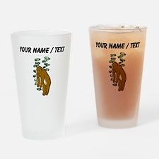 Bear Market (Custom) Drinking Glass