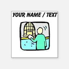 Bank Teller (Custom) Sticker