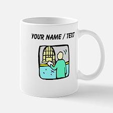 Bank Teller (Custom) Mugs
