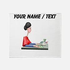 Accountant (Custom) Throw Blanket