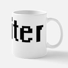 Writer Retro Digital Job Design Mug