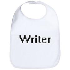 Writer Retro Digital Job Design Bib