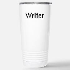 Writer Retro Digital Jo Travel Mug