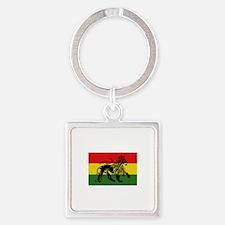 Rastafari Flag Keychains