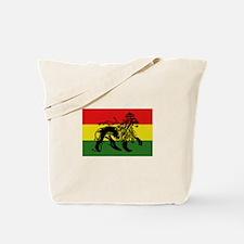 Rastafari Flag Tote Bag