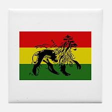 Rastafari Flag Tile Coaster
