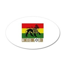 Conquering Lion Wall Decal