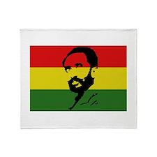 Haile Selassie I Throw Blanket