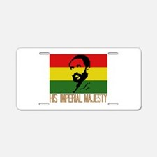 His Imperial Majesty Aluminum License Plate