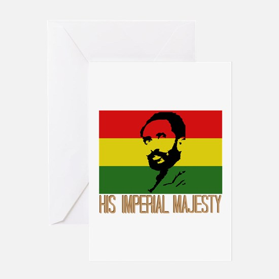 His Imperial Majesty Greeting Cards