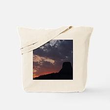 Towering Sunset Tote Bag